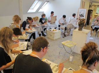 Illustration møder kunst: Foredrag og undervisning med tegneren Lars Munck