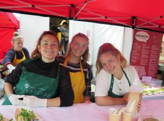 Odder Højskole i velsmagende Folkemøde-debut